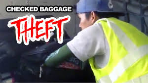 United Domestic Checked Bag Checked Baggage Theft Phuket International Airport Youtube