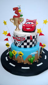 Dragon Ball Z Cake Decorations by Disney Cars Birthday Cake Landon Already Has Both Characters For