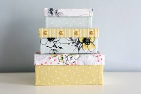 wrapping boxes on a whim diy that s a wrap fabric covered boxes