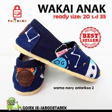 Jual Sepatu Wakai jual sepatu wakai anak navy antariksa sepatu anak wakai anak