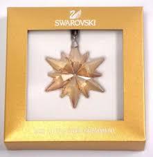 Swarovski Christmas Ornaments 2014 Uk by Swarovski Star Ornament Ebay
