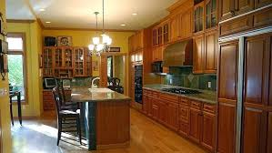 Medium Oak Kitchen Cabinets Stain Or Paint Kitchen Cabinets U2013 Fitbooster Me