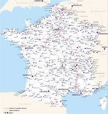 Rail Map Of Europe by France U0026 Paris Train Rail Maps