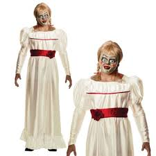 annabelle costume rubies mens the conjuring annabelle horror doll fancy