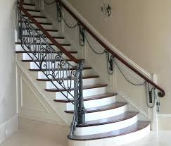 Fer Forge Stairs Design Rail For Stairs Fer Forge Railing Staircase Idea In Wooden