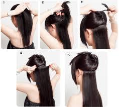 hair clip rambut hairclip 7revo rambut palsu berkualitas tinggi di jakarta