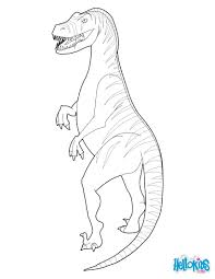 velociraptor coloring pages hellokids com