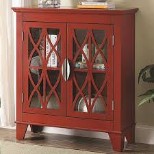 Coaster Curio Cabinet Accent Cabinet With Glass Doors Coaster 950312