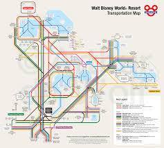 Disney World Hotel Map Walt Disney World Resort Transportation Map Dbm Your And