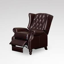 reclining back chair with ottoman amazon com bonded leather recliner and ottoman black kitchen
