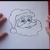 como dibujar a papa noel paso a paso 4 how to draw santa claus 4