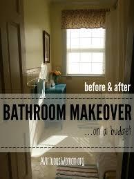 Bathroom Makeover On A Budget - master bathroom makeover on a budget