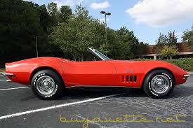 corvette 427 for sale 1968 corvette 427 390hp convertible for sale at buyavette
