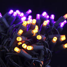 seasonal source 5mm50po f lights 5mm led purple and