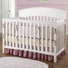 Graco Crib Convertible Graco Cribs Charleston 4 In 1 Convertible Crib In White