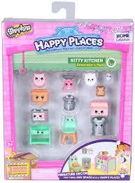 amazon com happy places shopkins decorator pack kitty kitchen amazon com happy places shopkins decorator pack kitty kitchen toys games