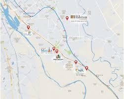 Greater Noida Metro Map by Urbtech Hilston Sector 79 Noida