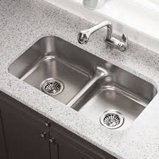 Under Sink Kitchen Cabinet 512 18 Gauge Undermount Half Divide Stainless Steel Kitchen Sink