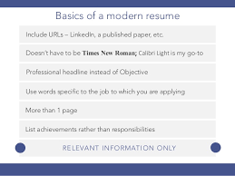 Stand Out Resume How To Create A Stand Out Resume