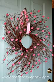 valentines wreaths s heart willow wreath the cards we drew
