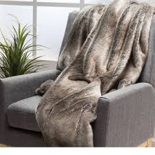 fur throws for sofas toscana faux fur throw by christopher knight home free shipping