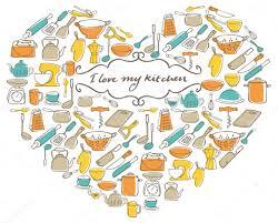 j aime ma cuisine j aime ma cuisine image vectorielle omw 48696713