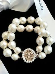 double pearl bracelet images Amazing design chanel pearl bracelet 7 best images about chanel on jpg