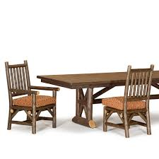 cedar dining room table rustic trestle dining table la lune collection