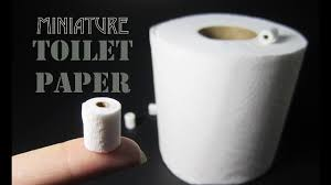 how to make a miniature toilet paper roll youtube