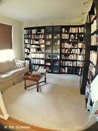 Living Room Office Ideas Library Home Office Makeover Hometalk