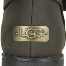 ugg womens grandle boots lyst ugg grandle java brown s buckle calf boot in brown