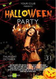 tutorial create a halloween party poster template saxoprint blog uk