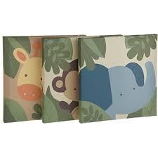 nursery canvas wall art amazon com