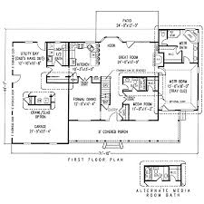 house plans with media room 139 best house plans images on house plans