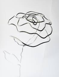 diy wire rose craft u0026 diy pinterest industrial wire art