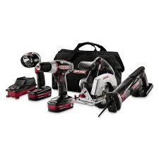 wedding registry power tools craftsman c3 19 2 volt 4 lithium combo kit 153 tools