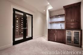 basement wine cellar contemporary basement veranda interiors