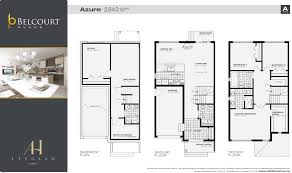 The Azure Floor Plan by Home Attollo Homes