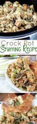 crockpot thanksgiving recipes stuffing recipes in crock pot
