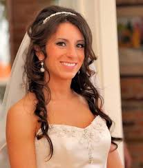 wedding hair with headband half up half wedding hairstyle with headband image elite