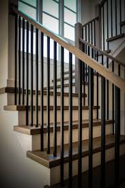 Metal Banisters Building A Modern Railing In 2016