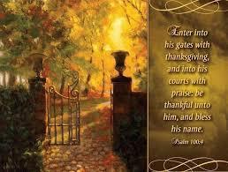 will enter his gates with thanksgiving lyrics