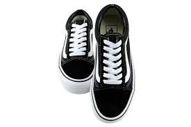 shoelace pattern for vans 60 00 vans old skool platform vn0a3b3uy28 women size 6 5