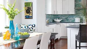 soft and sweet vanila kitchen design stylehomes net 50 ways to decorate with turquoise coastal living