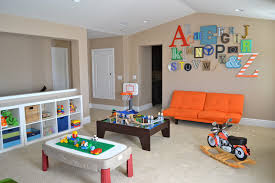 convenient ideas for playrooms to complement room designs