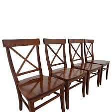 Shop Dining Chairs 84 Pottery Barn Pottery Barn Aaron Wood Dining Chairs Chairs