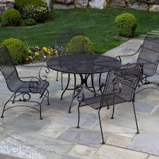 Patio Furniture Covers Reviews - home styles urban outdoor round dining patio table 5670 30