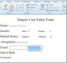 how to get a resume template on microsoft word create user entry forms in word 2010