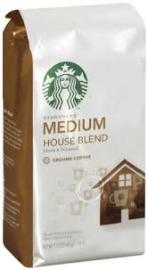 starbucks house blend ground coffee 12 ounce pack