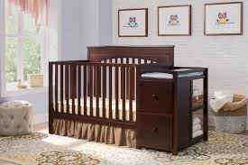nursery decors u0026 furnitures 4 in 1 convertible crib with